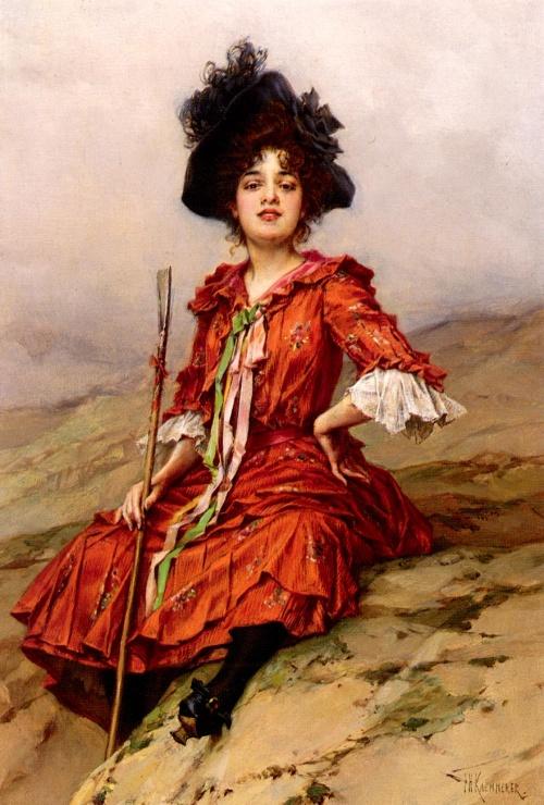 Художник Frederik Hendrik Kaemmerer (Dutch artist, 1839-1902)