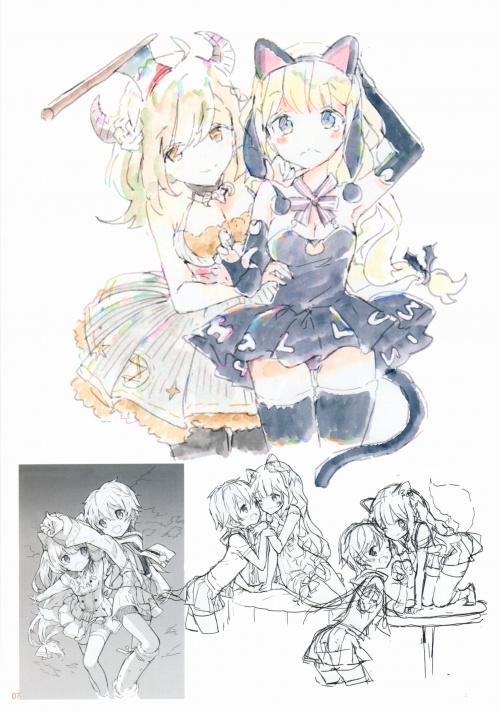 Artbooks / Atelier Tiv (Tiv) - Soredemo Mata Fuyu wa Yattekuru 3 (20 работ)