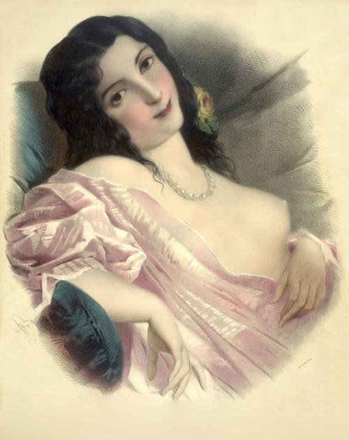 Литографии Josephine Ducollet - Винтаж (13 работ)