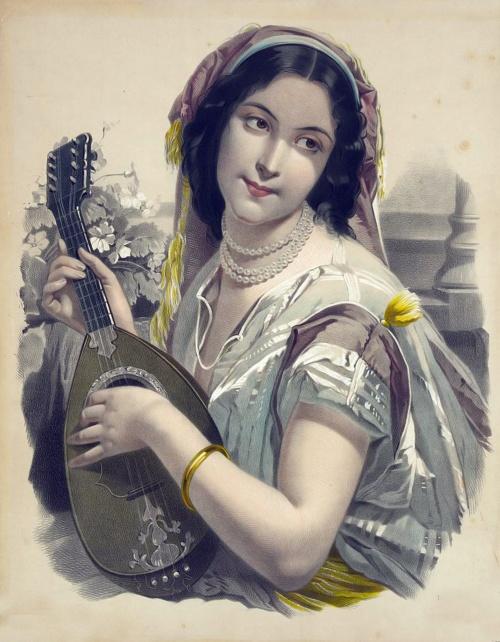 Литографии Josephine Ducollet - Винтаж (13 фото)