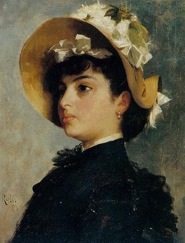 Греческий художник Theodore Jacques Ralli (1852-1909) (72 работ)
