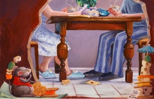 Коллекция работ американской художницы Melanie Florio (106 фото)
