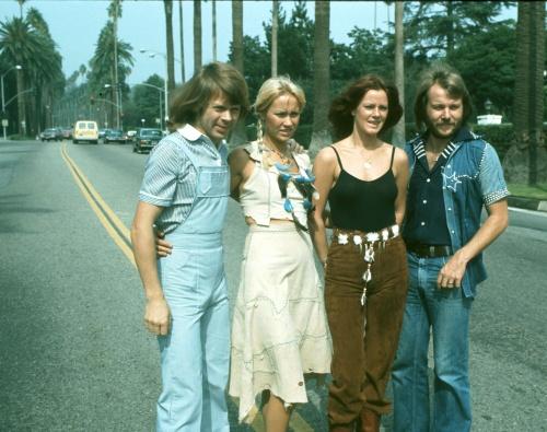 ABBA - Fotoshoot in Los Angeles (1976) (43 фото)