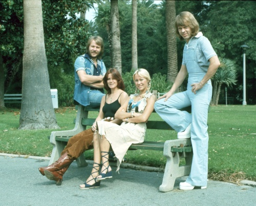 ABBA - Fotoshoot in Los Angeles (1976) (43 фото)