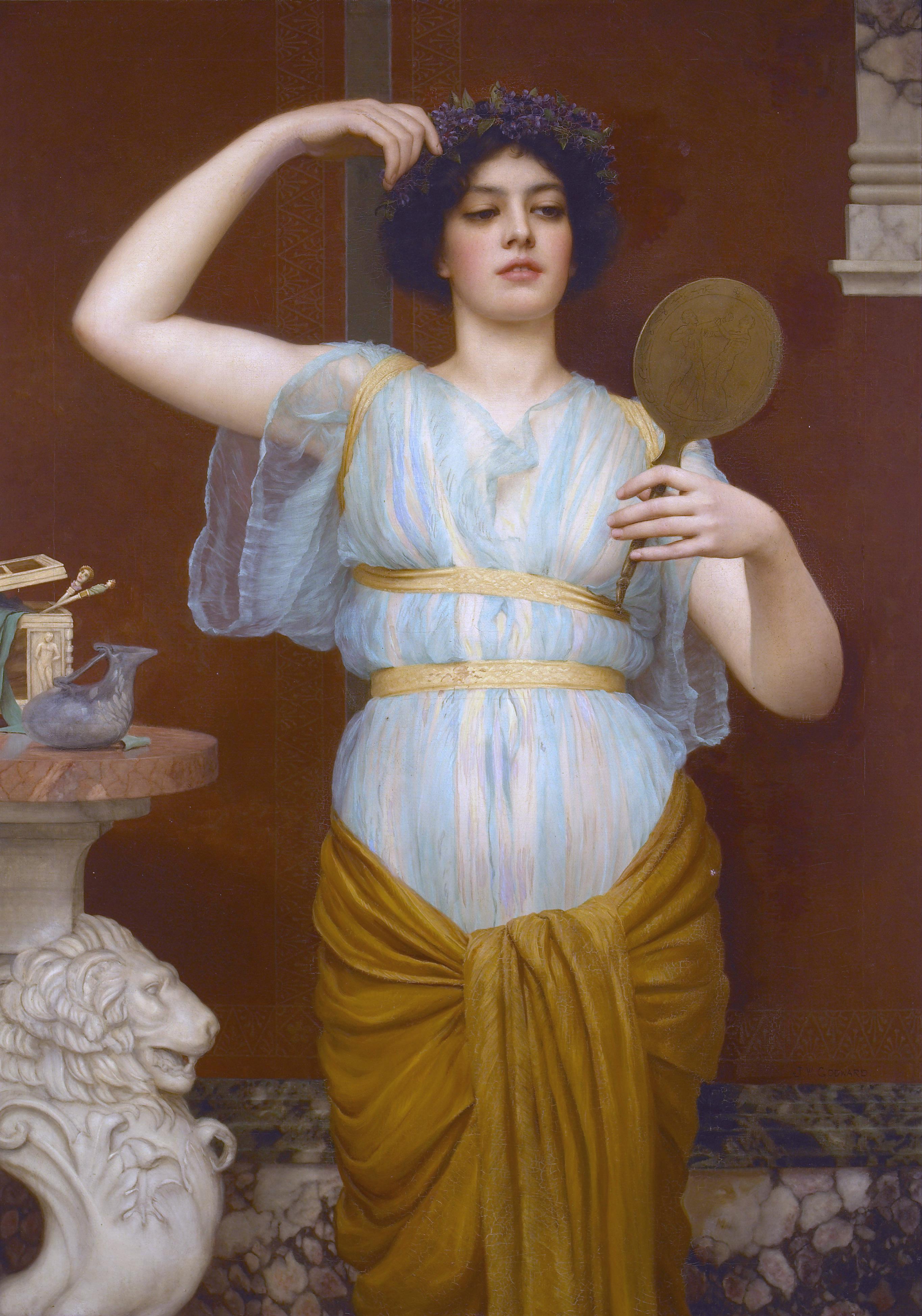 Красивые картинки античность девушки