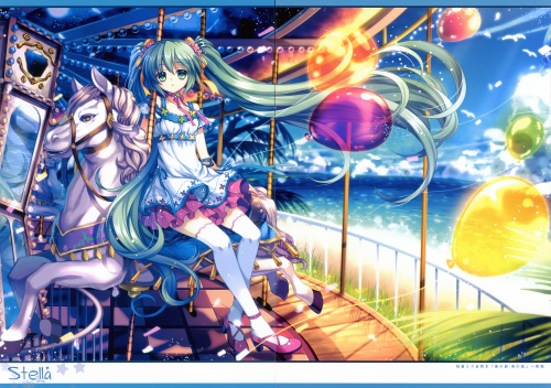 Artbooks / Eternal Phantasia (Capura.L) - Stella (C81) (14 работ)