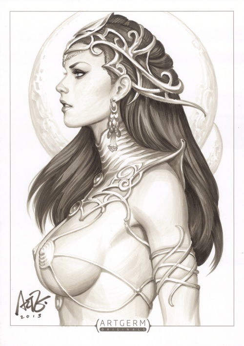 Works by Artgerm (part 4) (56 фото)