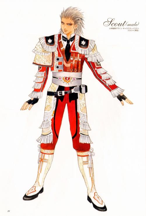 Granado Espada Plus Visual Chronicle Artbook (151 фото)