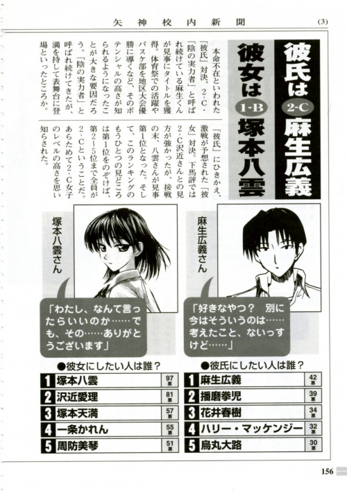 Artbooks / School Rumble Pleasure File Guide Book (173 фото)