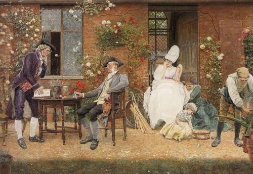 Английский художник Edward Killingworth Johnson (1825 - 1896) (52 работ)