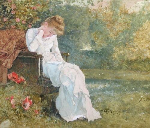 Английский художник Edward Killingworth Johnson (1825 - 1896) (52 фото)