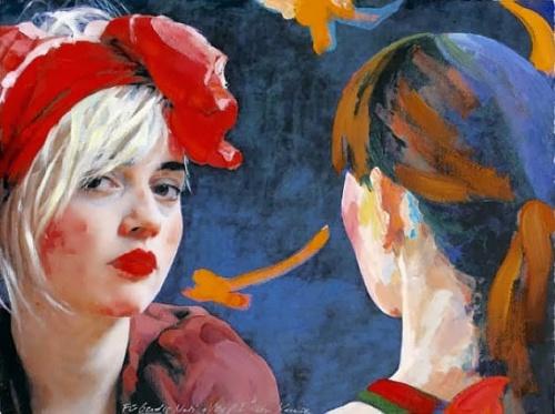 Artist Xenia Hausner (47 работ)