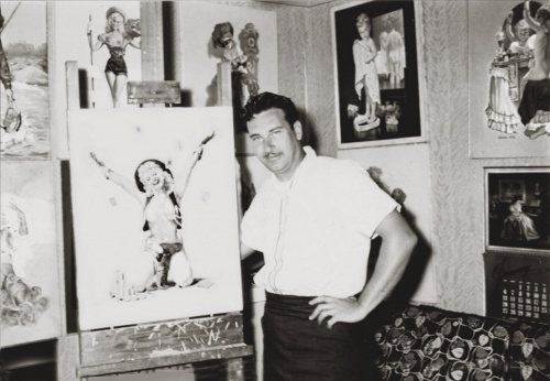 Коллекция работ американского художника Vaughan Alden Bass (61 работ)