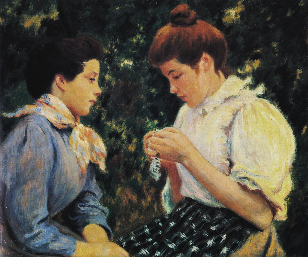 Crocheting Lessons : ??????????? ???????? Federico Zandomeneghi (1841 ...