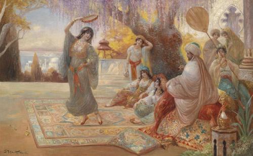 Немецкиий художник Stephan Sedlacek (1868-1936) (29 работ)
