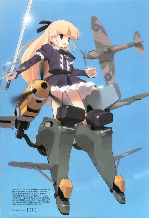 Fighter Aircraft Girls of World War II (135 фото)