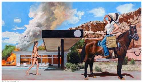 Американский художник Tracy Stuckey (40 фото)