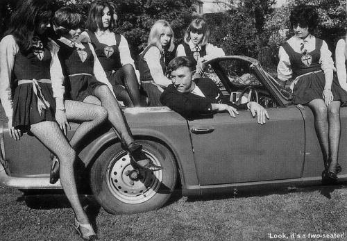 Рекламные плакаты авто. Середина ХХ-го века (42 фото)