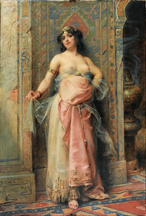 Classical Woman - Collection of Paintings (106 фото)