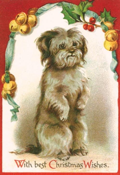 Новогодний и Рождественский винтаж – Открытки, картинки, постеры (83 открыток)