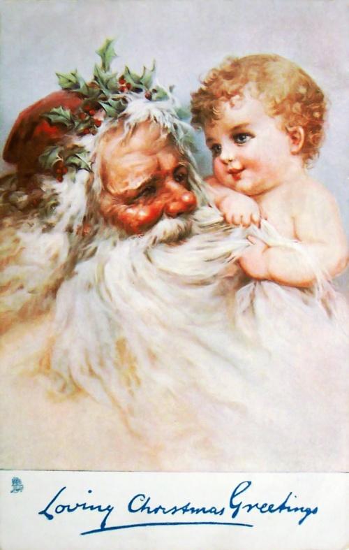 Новогодний и Рождественский винтаж – Открытки, картинки, постеры (83 фото)