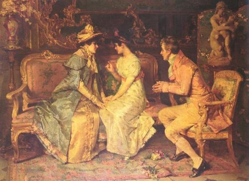 Испанский художник Luis Alvarez Catala (1836-1901)