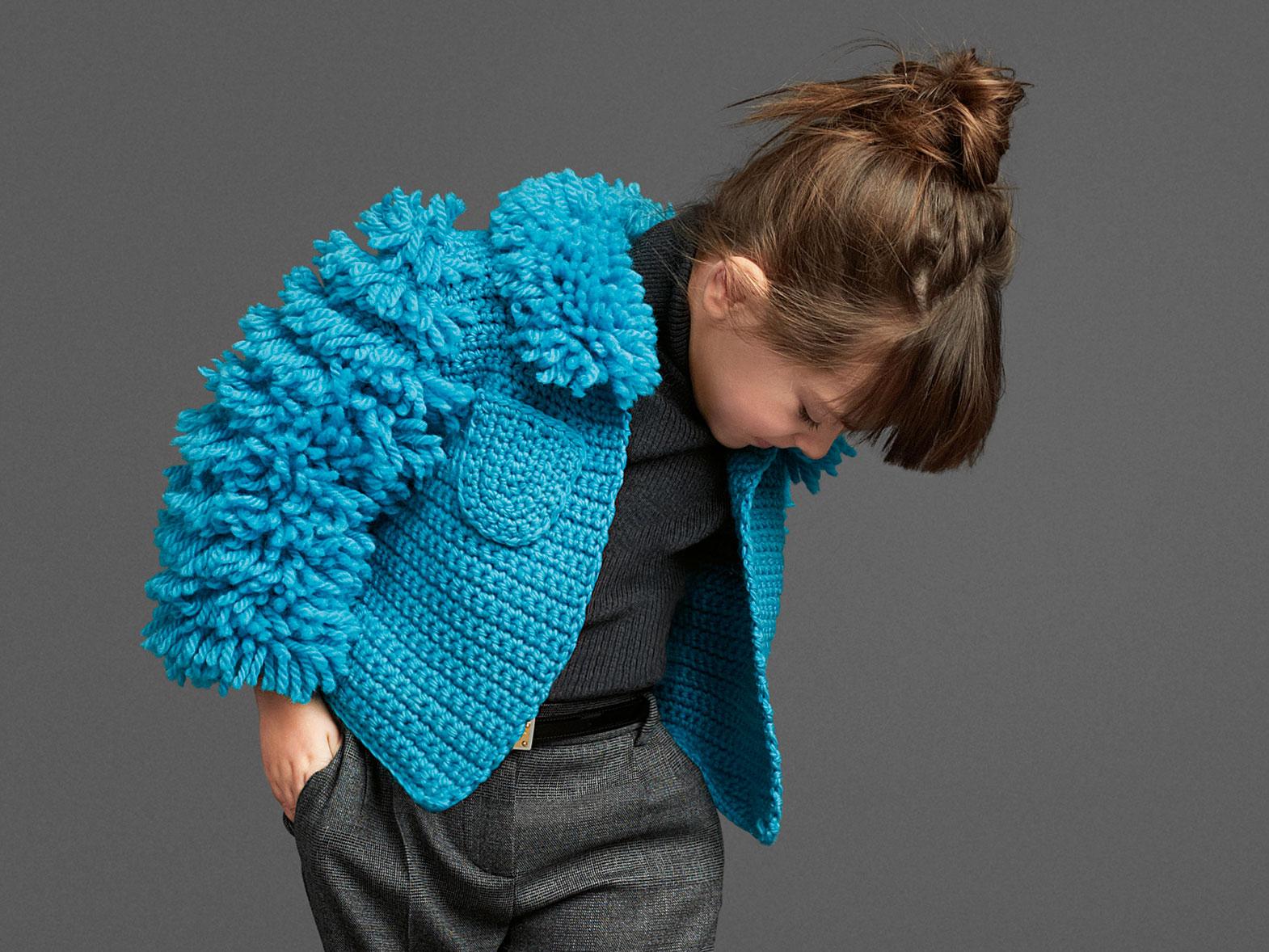 Стильное вязание для детей 19