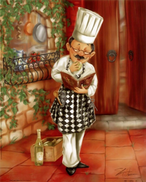 Картинки для декупажа - Кухня (102 работ)