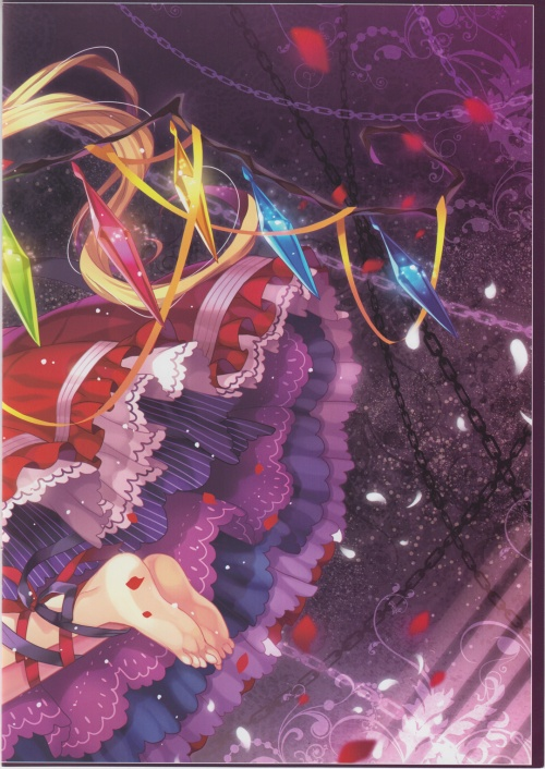 Artbooks / Eternal Phantasia (Capura.L) - Innocence (C84) (27 работ)