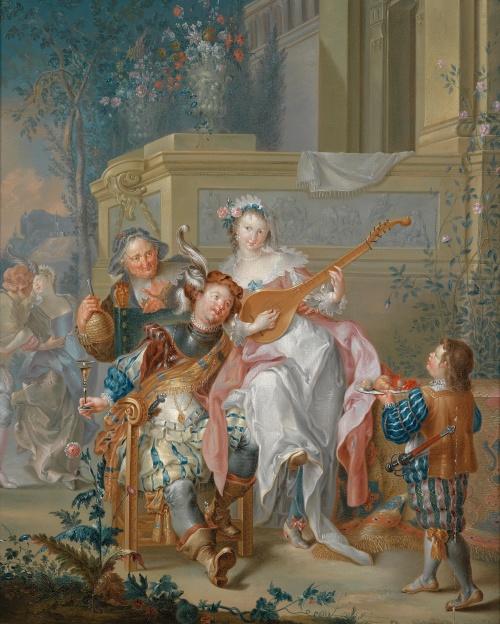 Иоганн Георг Платцер  Johann Georg Platzer (1704-1761) (31 фото)