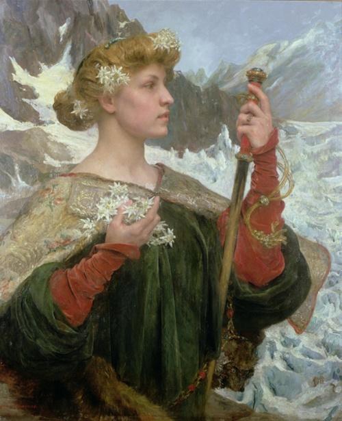 Французский художник Edgard Maxence (1871 – 1954) (66 работ)