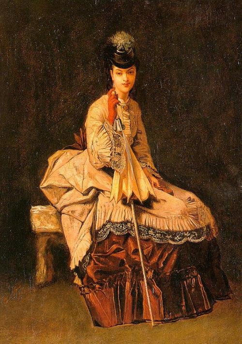 Французский художник Jules-Adolphe Goupil (1839 - 1883)