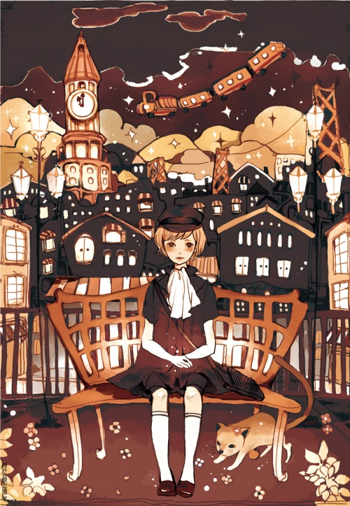 Работы японского художника Nogaru Wako (144 фото)