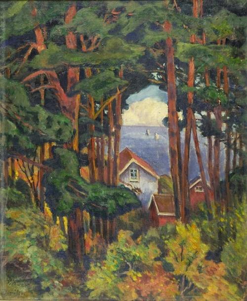 Художник Karl Edvard Diriks (Norway, 1855-1930) (43 фото)