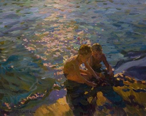 Солнечный импрессионизм Юрия Кротова