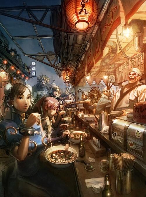 Concept Art by Arnold Tsang (63 фото)