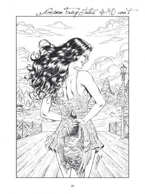 Grimm Fairy Tales Cover Art Book (148 фото)
