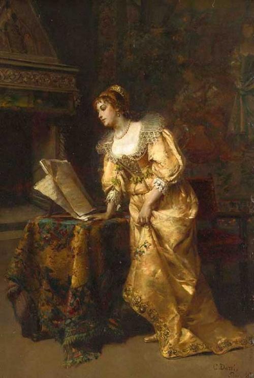 Итальянский художник Cesare Augusto Detti (1847-1914) (76 фото)