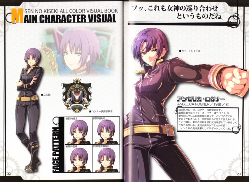 Artbooks / 英雄伝説 閃の軌跡 ALL COLOR VISUAL BOOK (32 фото)