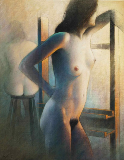 Modern Woman - Collection of Paintings (106 фото)