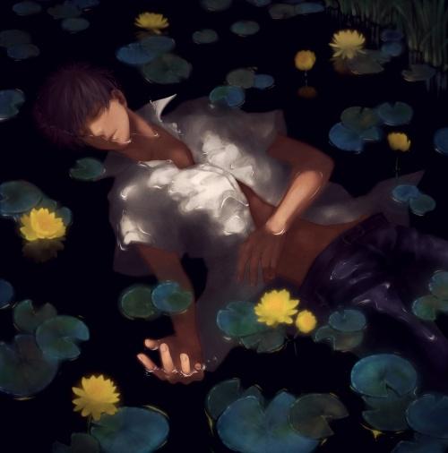 Pixiv Artist - 雨 (Rain) (40 работ)