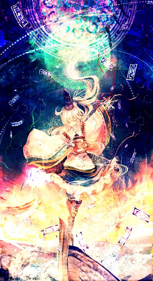 Красивый арт по вселенной Тохо от Carcharias (326 фото)