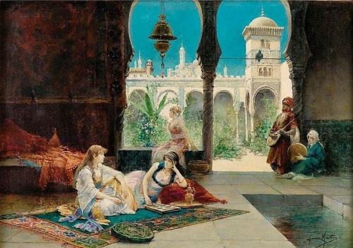 Испанский художник Juan Gimenez Y Martin (1855-1901) (13 работ)