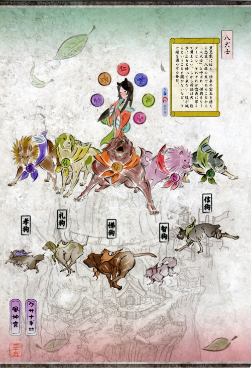 Okami Official Complete Works (269 фото)
