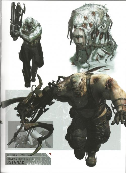 Resident Evil 6 Artbook (54 работ)