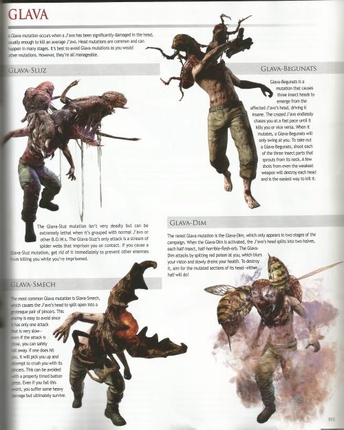 Resident Evil 6 Artbook (54 фото)