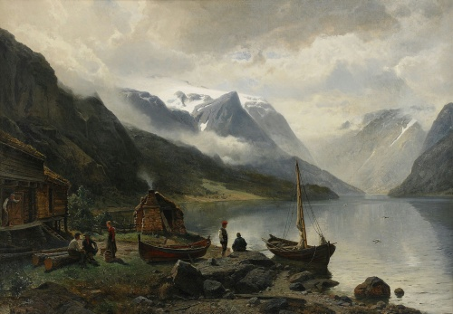 Художник Johan Edvard Bergh (Sweden, 1828-1880) (18 работ)