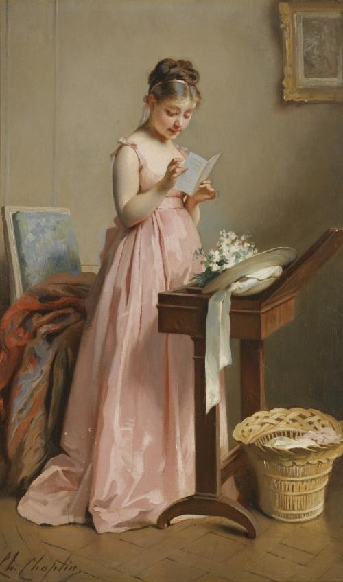 Artworks by Charles Joshua Chaplin (1825-1891) (42 работ)