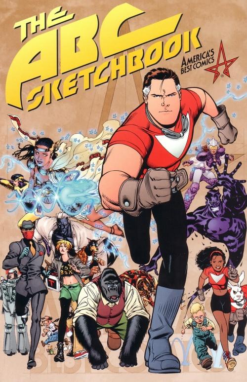 America's Best Comics Sketchbook (51 фото)