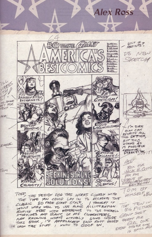 America's Best Comics Sketchbook (51 фото)